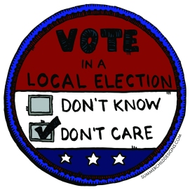 Vote Patch with Color 6x6